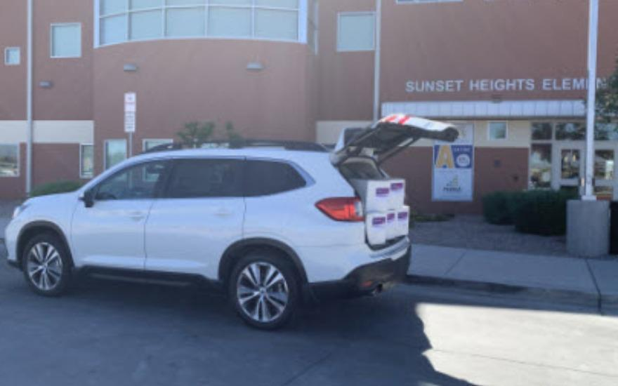 Peoria Subaru partners w/ Sunset Heights