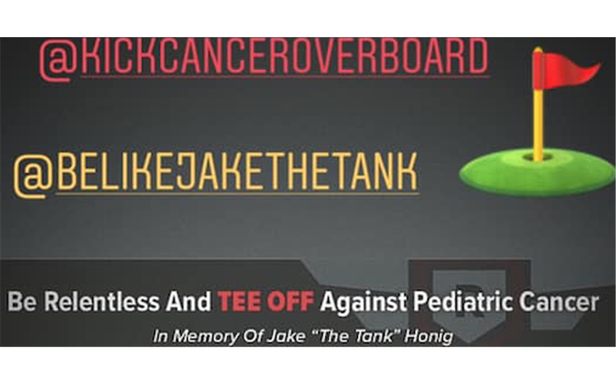 Be Relentless and Tee Off Against Pediatric Cancer