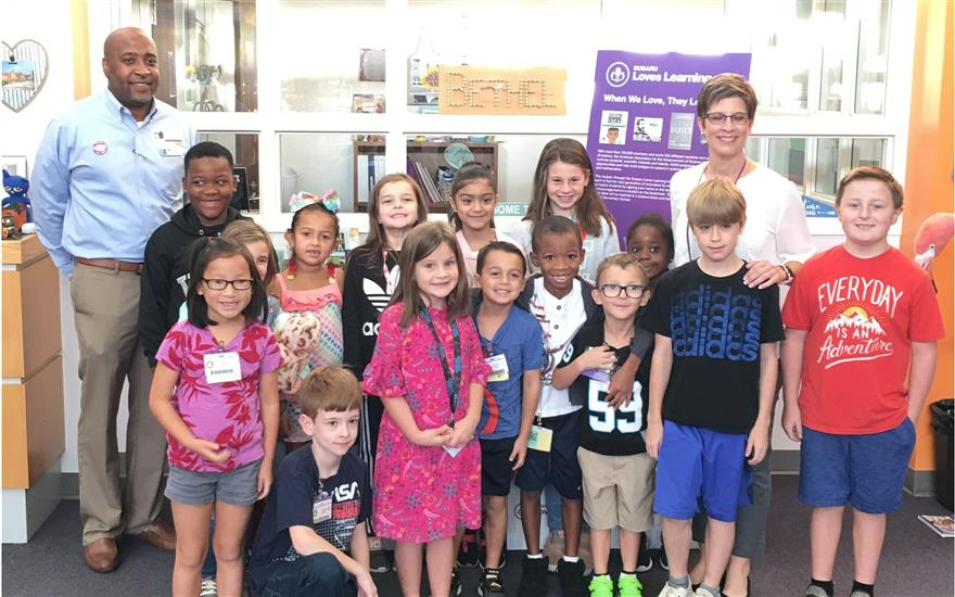 Subaru Loves Learning with Bethel Elementary Schoo