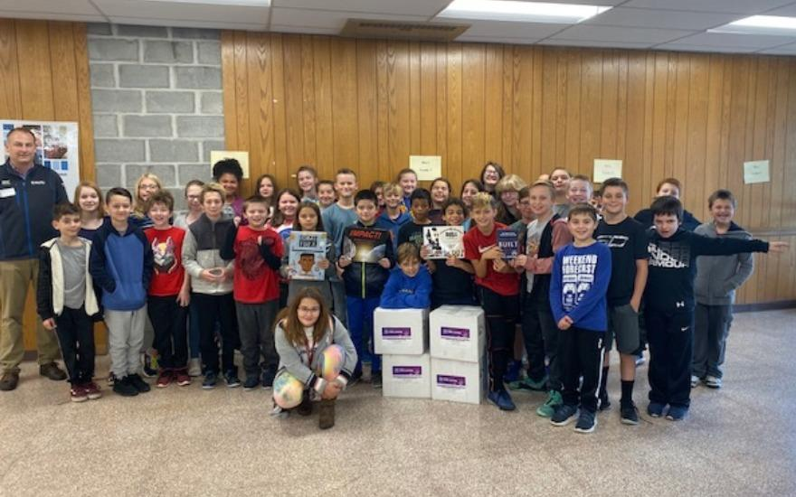 Fairway Makes Commitment to Student Literacy