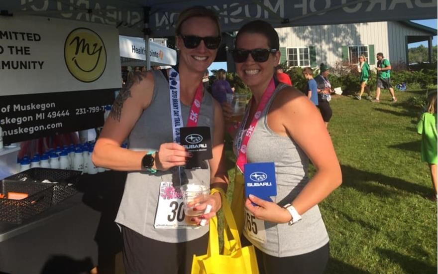 Subaru of Muskegon Supports Brainy Day Trail Run