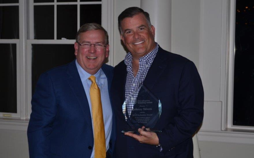 2019 Inclusion Award given to Johhny Stivers