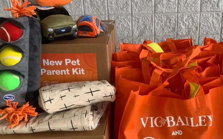 Vic Bailey Subaru LOVES Pets Adoption Event
