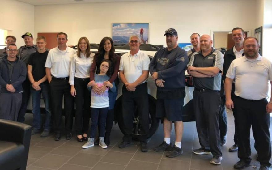 Sendell Subaru and the Leukemia and Lymphoma