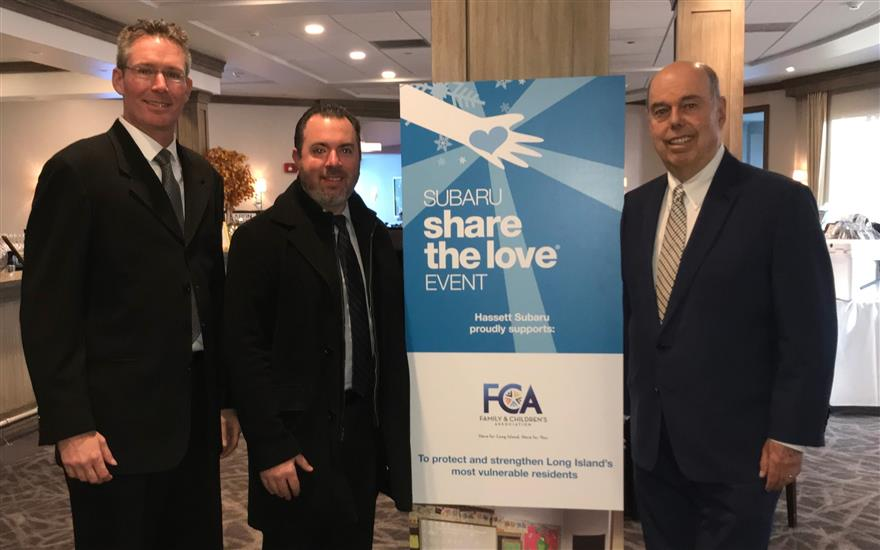 FCA Proud Beneficiary of Share the Love Event