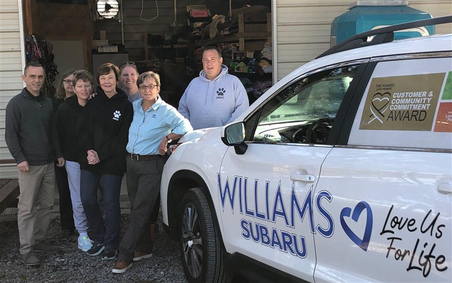 Williams Subaru Loves Pets