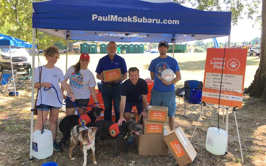 Wellsfest 2019: Paul Moak Subaru Pet Parade
