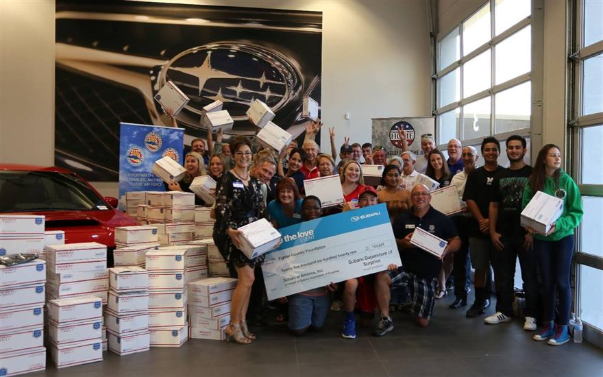 Subaru of Surprise supports Luke Air Force Base