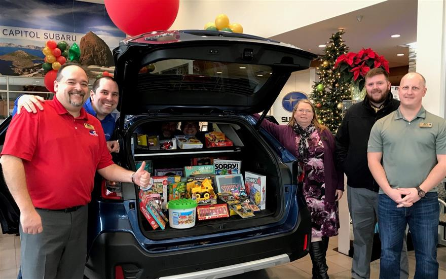 Share the Love Toy Drive for Make-A-Wish