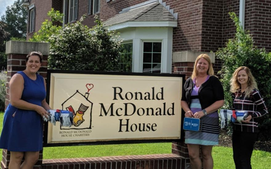 Giving Back to The Ronald McDonald House