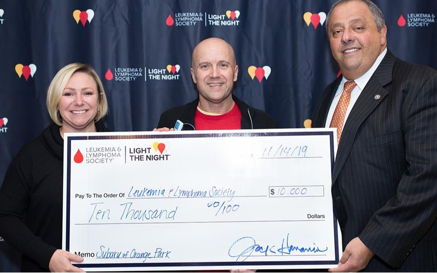 Proud Supporter of Leukemia and Lymphoma Society