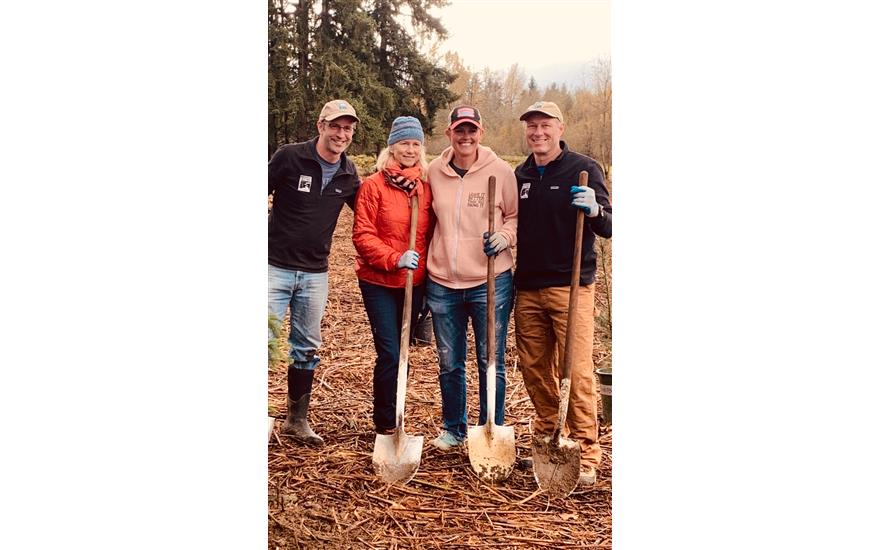Planting  200,000+ trees with our community