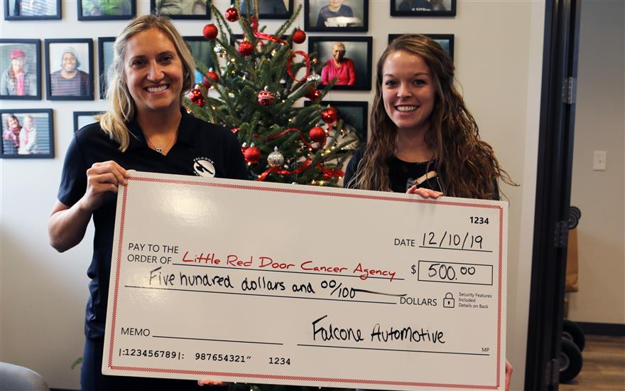 Thank you from Little Red Door Cancer Agency!