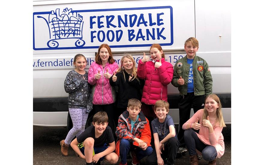 Subaru Loves to Help: Ferndale Food Bank