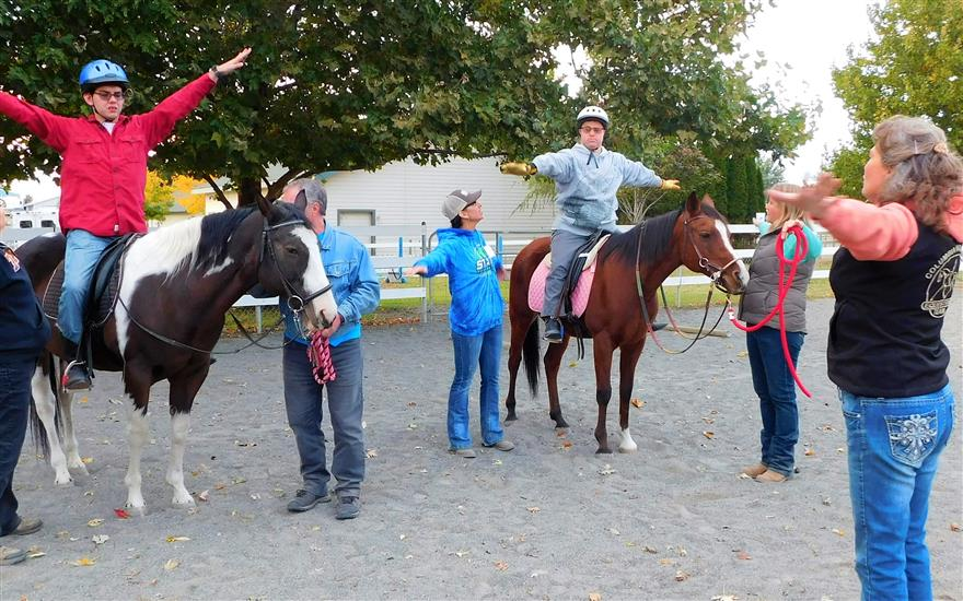 Partnering with Therapeutic Riding of Tri-Cities