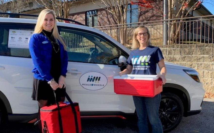 Subaru Delivers Meals on Wheels in Augusta