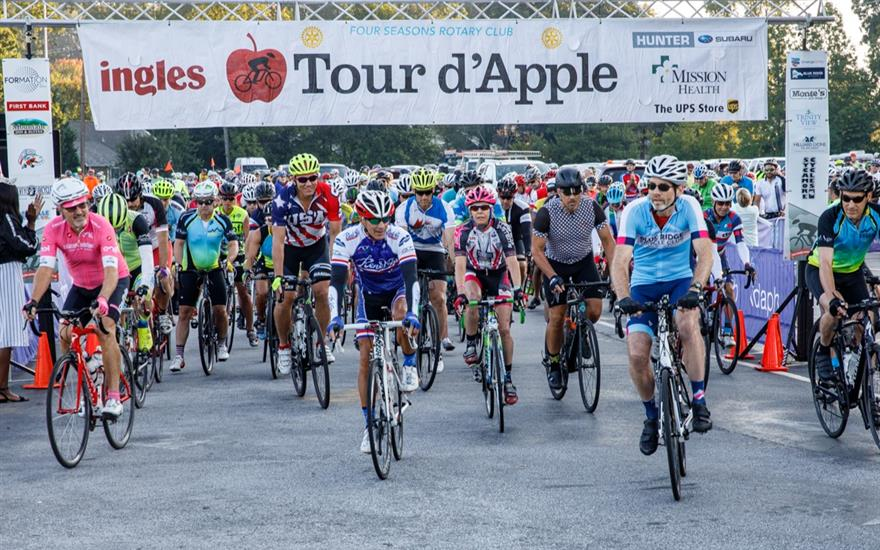 Tour D'apple Charity Cycling