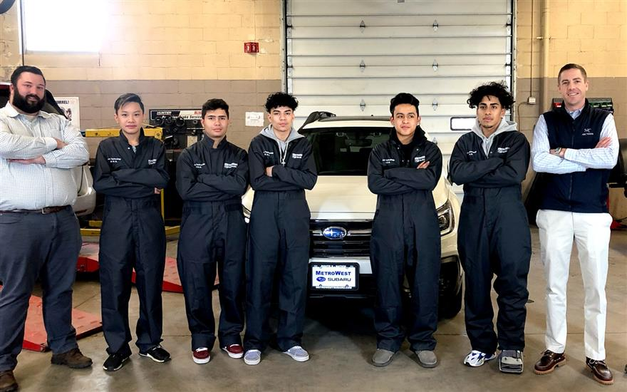MetroWest Subaru Supports Future Automotive Techs