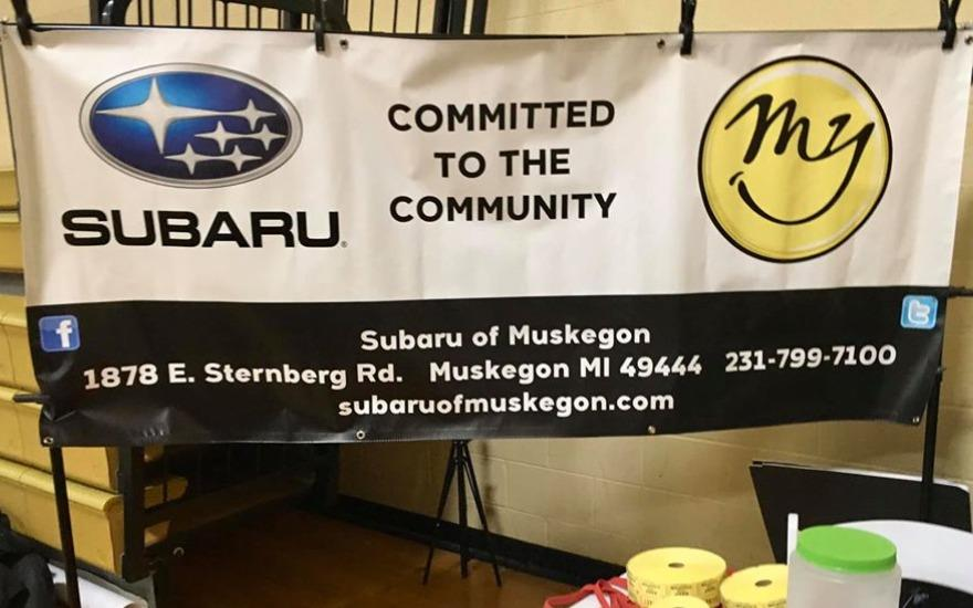 Subaru of Muskegon Supports MCC Green & Gold Club