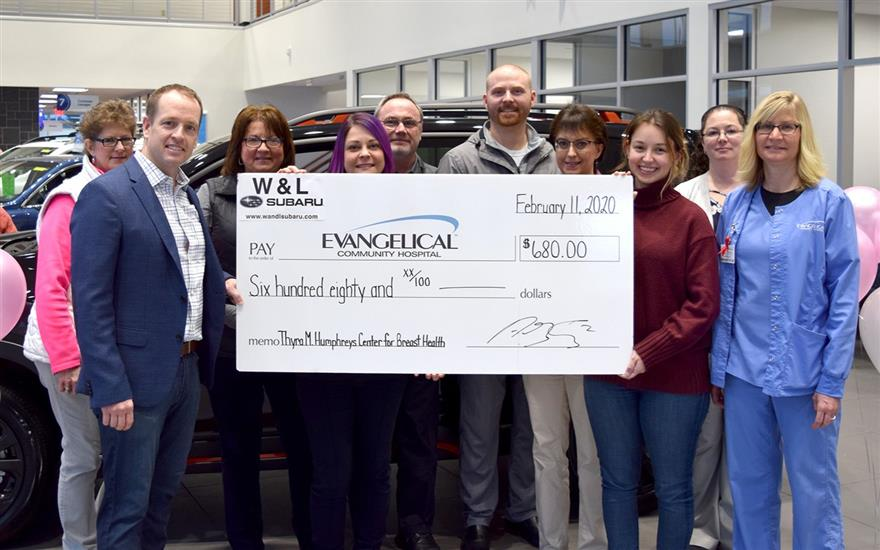 W&L supports Evangelical Community Hospital