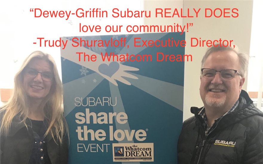 Subaru Loves To Help: Whatcom Dream
