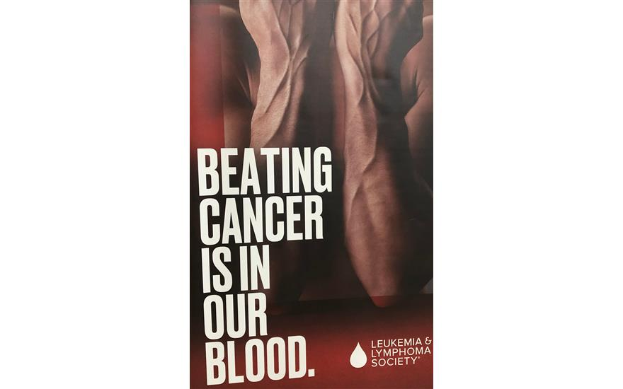 Blackout Blood Cancer!