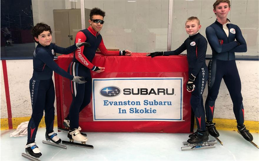Evanston Subaru Supports Northbrook Speed Skating