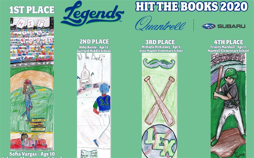 Hit the Books with the Lexington Legends