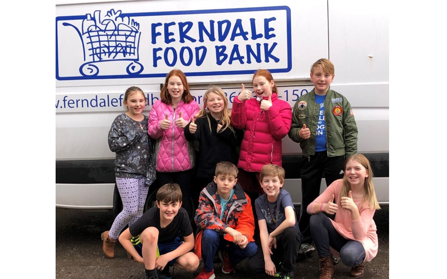 Subaru Loves to Help: Ferndale Foodbank