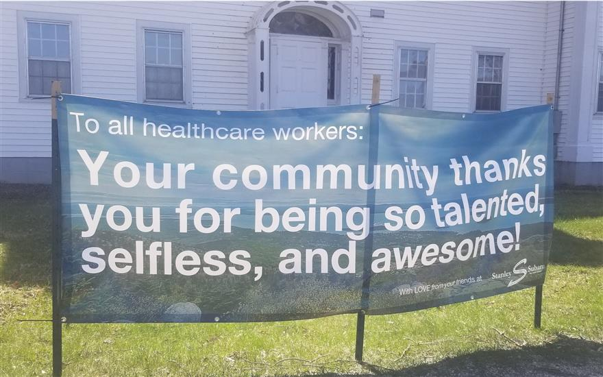 Hancock County Healthcare workers Feeling the Love