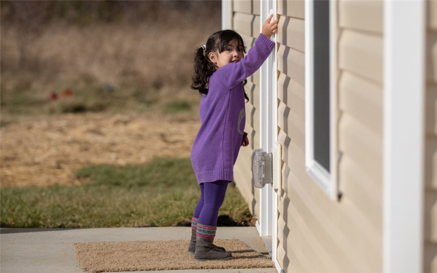 Building homes, communities and hope