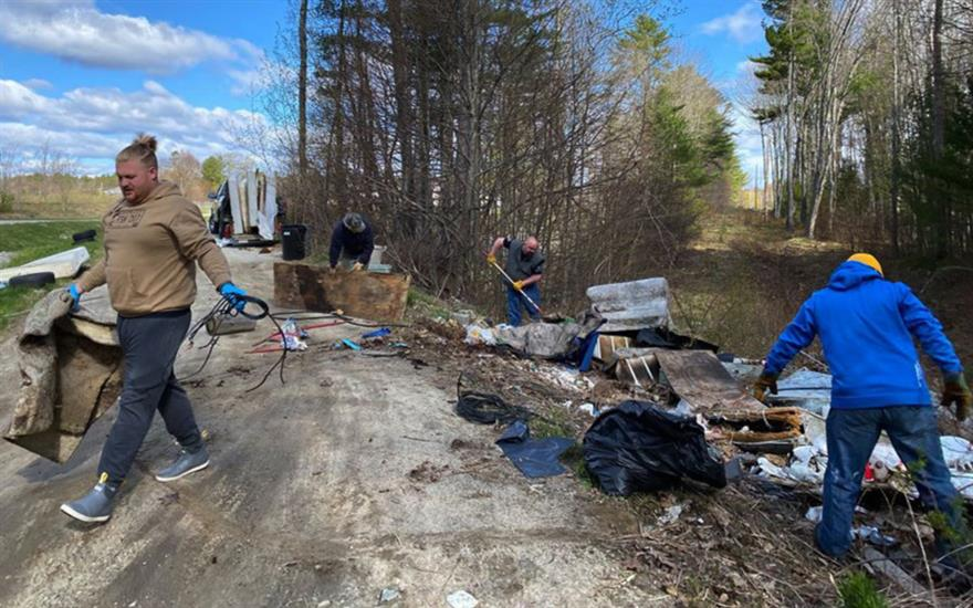 Taking Action Against Illegal Dumping