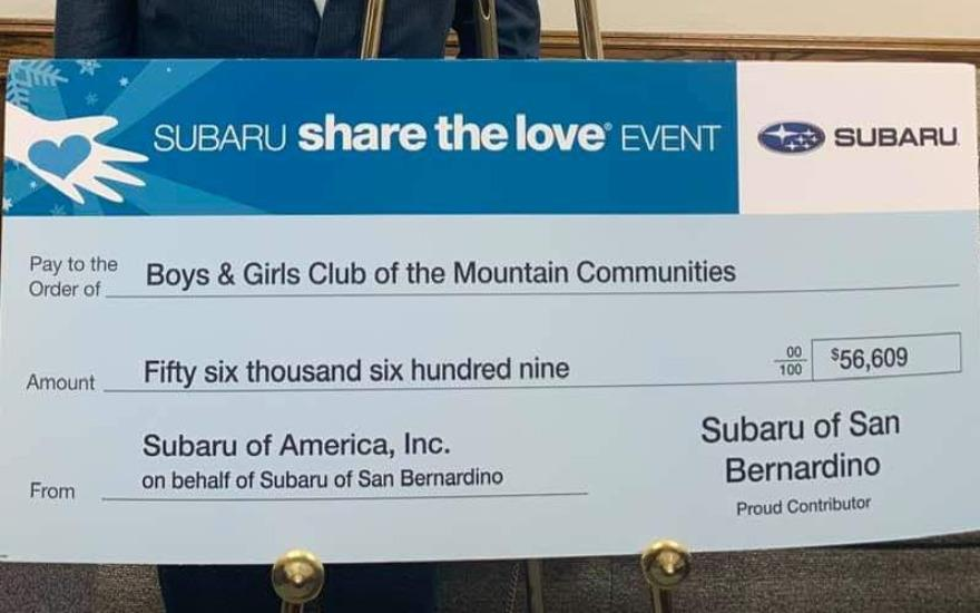 Subaru of San Bernardino Share the Love Event
