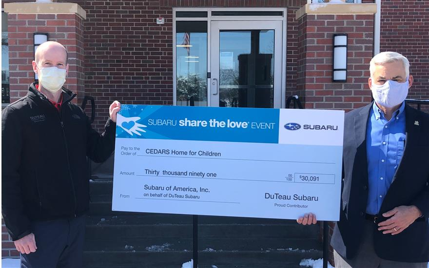 Duteau Subaru makes a difference.