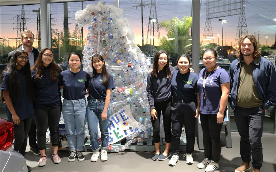 Subaru Pacific Supports Students' Green Goals