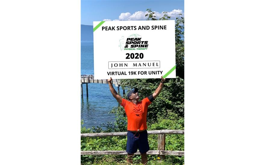Peak Sports and Spine PT Virtual 19k for Charity