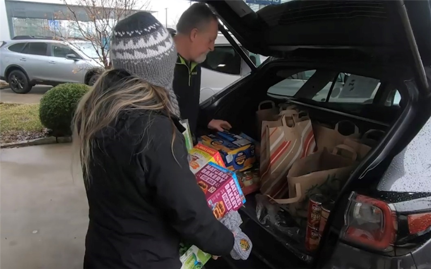 Sharing the Love by delivering Meals on Wheels