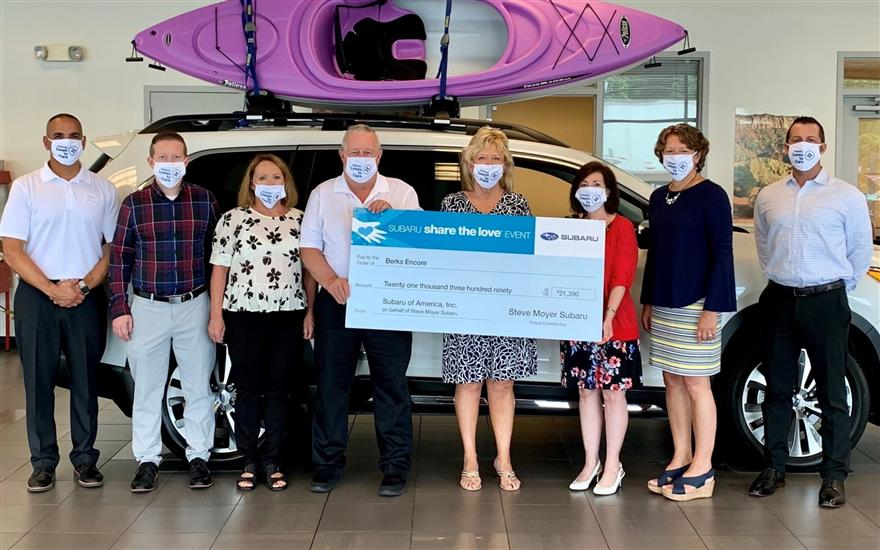 Check Presentation Offers COVID Relief