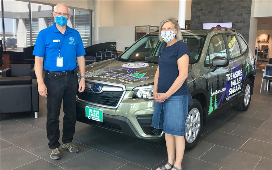 Treasure Valley Subaru Partners with SVDP
