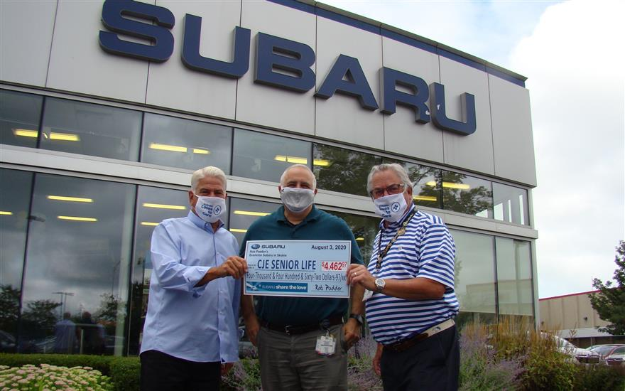 Subaru Delivers for Meals on Wheels and CJE