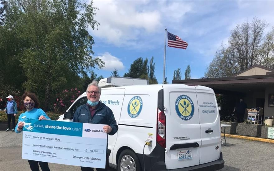 SUBARU LOVES TO HELP: Meals on Wheels & More