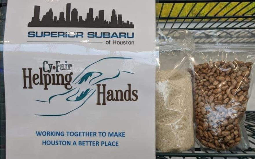 Superior Subaru helps the Hungry