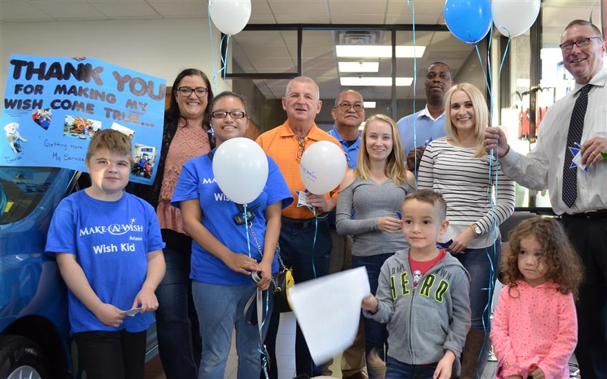 Peoria Subaru Makes Wishes Come True!