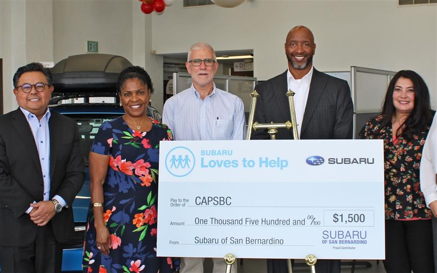 Subaru Loves to Help CAPSBC and Our Communities!