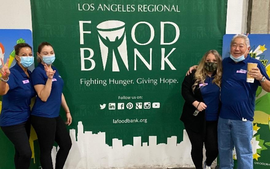 Subaru Of Glendale fighting hunger & giving hope.