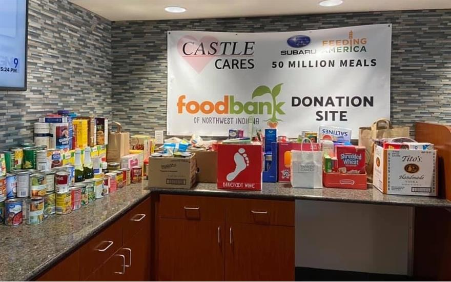 Foodbank of NWI receives 670lbs in donations