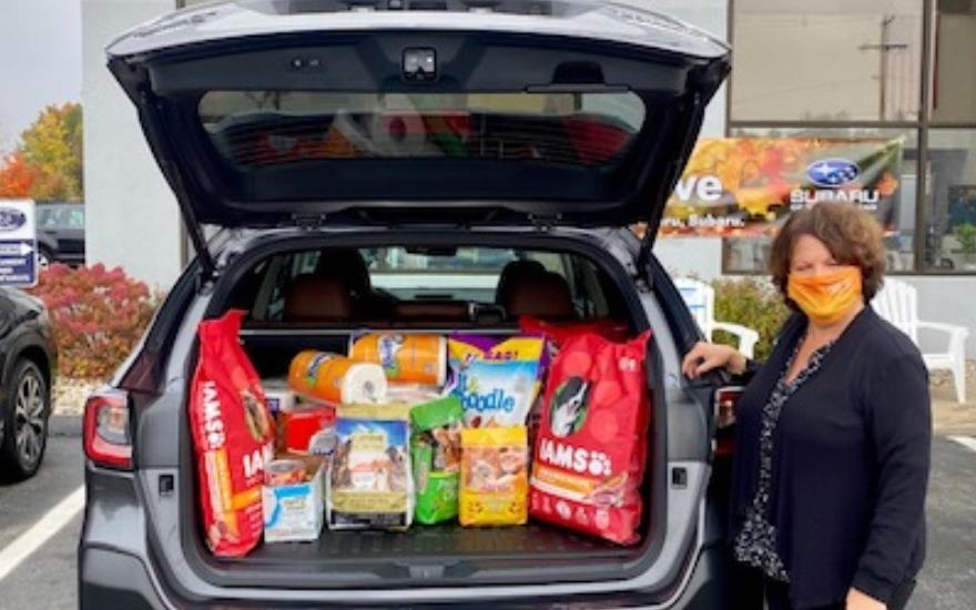 SPCA Feed the Need Drive at Ed Reilly Subaru