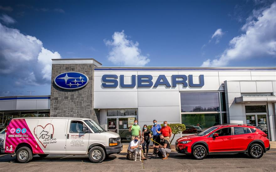 Muller Subaru Helps Find Homes for Over 100 Pets
