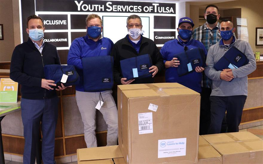 Ferguson Subaru helps homeless youth stay warm