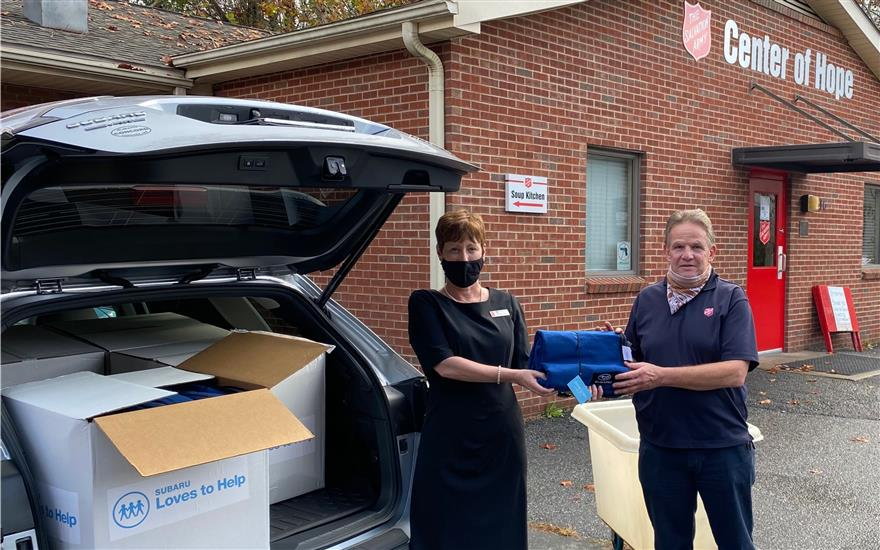 Delivering Warmth and Gratitude on Veterans Day